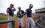 Images from a spring training game between the Cleveland Indians and the San Diego Padres in Goodyear, Ariz., on Thursday, March 22, 2018. <br /> Photo by Cathleen Allison/Nevada Momentum