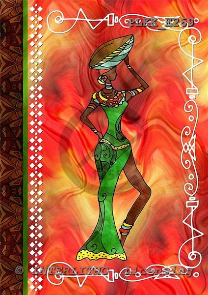 Kris, MODERN, ethnical, paintings, PLKKE269,#n# étnico, illustrations, pinturas