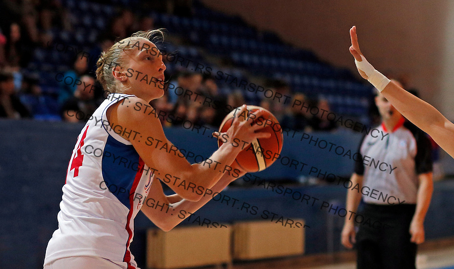 Danielle Page prijateljska, friendly, Srbija - Kina, Serbia - China, women basketball national team Maj 29. 2015. Beograd, Srbija,  (credit image & photo: Pedja Milosavljevic / STARSPORT)