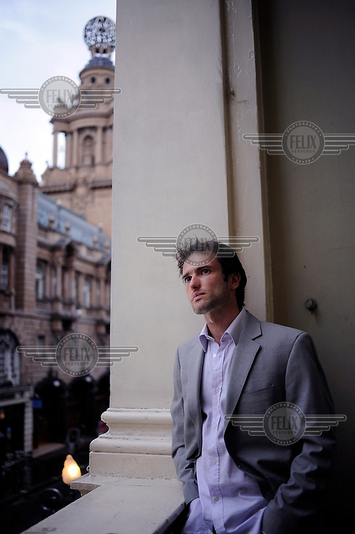 Actor Ed Stoppard at the Duke of York's theatre in London where he is appearing in Arcadia, written by his father Tom Stoppard..
