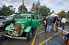 Sept. 22, 2012; A dozen Notre Dame faculty members bought this 1934 fire truck to use as a tailgating vehicle...Photo by Matt Cashore/University of Notre Dame