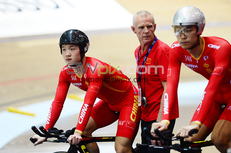 Picture by Simon Wilkinson/SWpix.com - 10/11/2017 - UCI Track Cycling World Cup Manchester Great Britain - Shane Sutton - now a Coach with the China National CyclingTeam pictured in Manchester today
