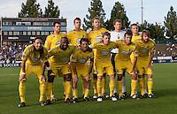 Columbus Crew Starting Eleven. The San Jose Earthquakes tied the Columbus Crew 2-2 at Buck Shaw Stadium in Santa Clara, California on June 2nd, 2010.