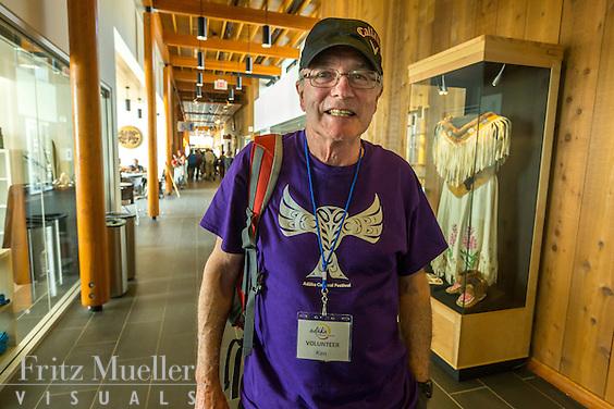 Adaka Cultural Festival 2016, Whitehorse, Yukon, Canada, Yukon First Nation Culture and Tourism Association, Kwanlin Dun Cultural Centre, volunteer