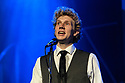 The Simon & Garfunkel Story opens at the Lyric, Shaftesbury Avenue. Starring Charles Blyth (as Art Garfunkel) and Sam O'Hanlon (as Paul SImon). This 50th Anniversary Celebration also features a full live band and brass orchestra performing all the hits including 'Mrs Robinson', 'Cecilia', 'Bridge Over Troubled Water', 'Homeward Bound' and many more. Written, directed and designed by Dean Elliott. Picture shows: Charles Blyth (as Art Garfunkel)