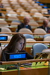 General Assembly Seventy-third session, 14th plenary meeting