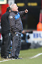 Tranmere manager Les Parry. - Stevenage v Tranmere Rovers - npower League 1 - Lamex Stadium, Stevenage - 17th December 2011  .© Kevin Coleman 2011 ... ....  ...  . .