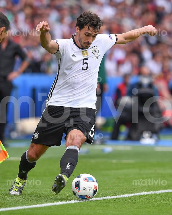 FUSSBALL EURO 2016 GRUPPE C IN PARIS Nordirland - Deutschland     21.06.2016 Mats Hummels (Deutschland)