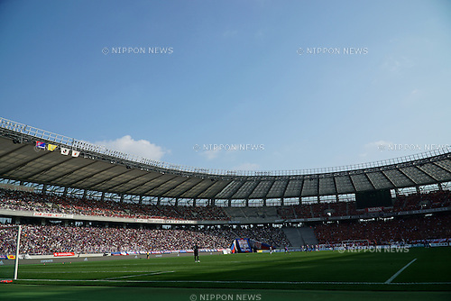 Ajinomoto Stadium, OCTOBER 24, 2015 - Football / Soccer : A general view inside of Ajinomoto Stadium during the 2015 J1 League 2nd stage match between F.C.Tokyo 3-4 Urawa Red Diamonds in Tokyo, Japan. (Photo by Hitoshi Mochizuki/AFLO)