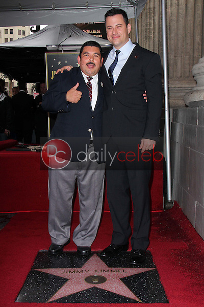 Guillermo Rodriguez, Jimmy Kimmel<br />