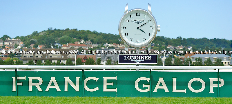 Scenes from around the track on July 29, 2012 at Deauville-La Touques Racecourse in Deauville, Basse-Normandie, France.  (Bob Mayberger/Eclipse Sportswire)