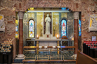 Altar of Relics at the Basilica of the National Shrine of St. Elizabeth Ann Seton, Emmitsburg, Maryland