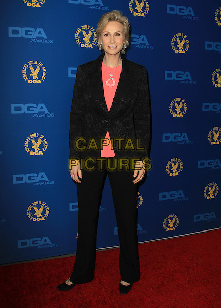 Jane Lynch.65th Annual Directors Guild Of America Awards - Arrivals - Press Room Held At The Ray Dolby Ballroom at Hollywood & Highland Center, Hollywood, California, USA..February 2nd, 2013.full length black suit trousers pink top blazer .CAP/ADM/KB.©Kevan Brooks/AdMedia/Capital Pictures.