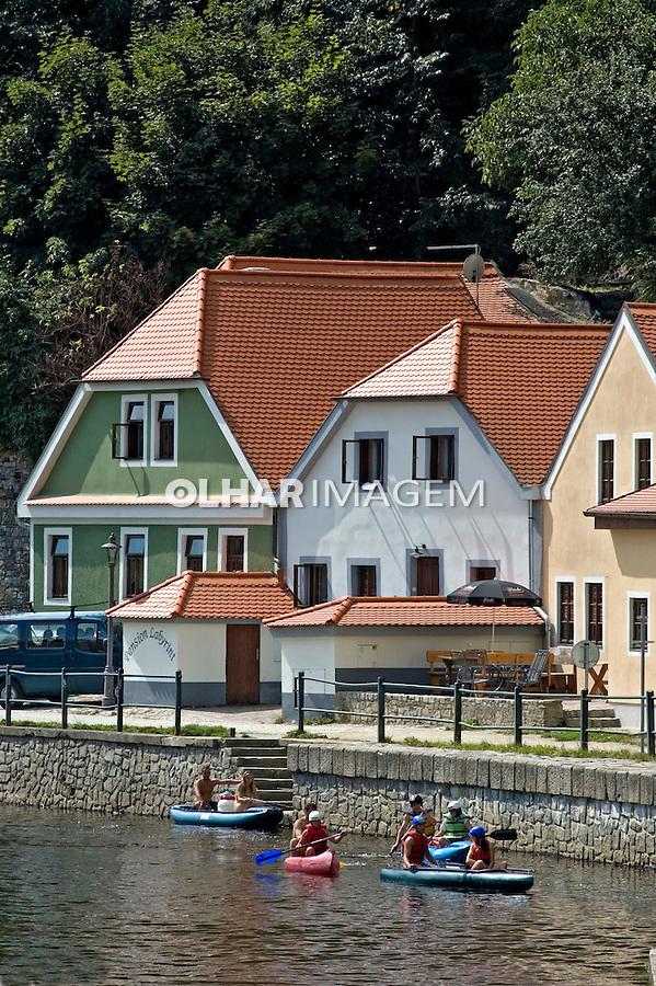 Cidade Ceske Krumlov. Republica Tcheca. 2008. Foto de Cris Berger.