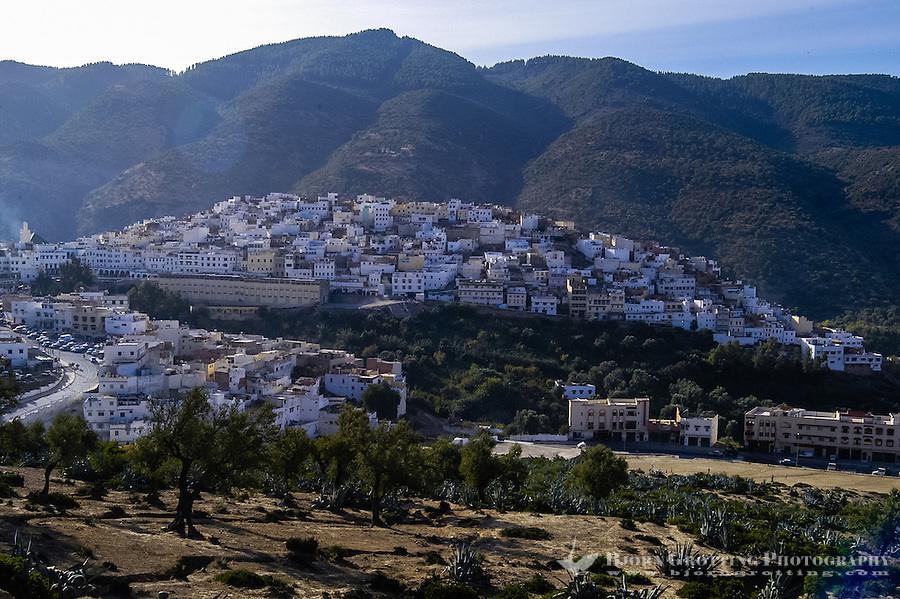 Morocco. Moulay Idriss is a pilgrimage site for Muslims.