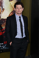 "HOLLYWOOD, LOS ANGELES, CA, USA - MARCH 04: Jack O'Connell at the Los Angeles Premiere Of Warner Bros. Pictures And Legendary Pictures' ""300: Rise Of An Empire"" held at TCL Chinese Theatre on March 4, 2014 in Hollywood, Los Angeles, California, United States. (Photo by Xavier Collin/Celebrity Monitor)"
