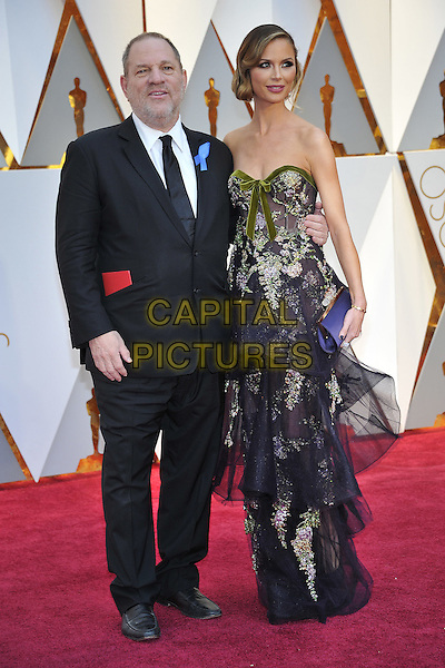 HOLLYWOOD - FEBRUARY 26: Harvey Weinstein (L) and Georgina Chapman attends the 89th Annual Academy Awards at the Dolby Theatre on February 26, 2017 in Hollywood, California. <br /> CAP/MPI99<br /> &copy;MPI99/Capital Pictures