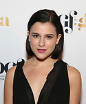 Alexandra Socha attends 2017 Dramatists Guild Foundation Gala reception at Gotham Hall on November 6, 2017 in New York City.
