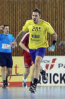 Alexandru Csepreghi se bucura dupa marcarea unui gol
