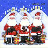 Kate, CHRISTMAS SANTA, SNOWMAN, WEIHNACHTSMÄNNER, SCHNEEMÄNNER, PAPÁ NOEL, MUÑECOS DE NIEVE, paintings+++++Christmas page 38,GBKM149,#x#