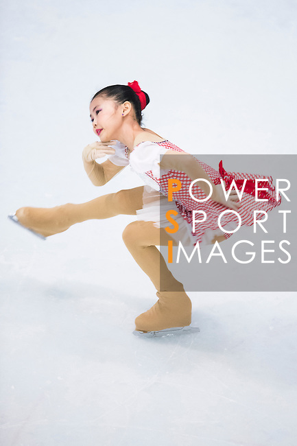 Zi Ye Li competes during the Asian Junior Figure Skating Challenge 2015 on October 07, 2015 in Hong Kong, China. Photo by Aitor Alcalde/ Power Sport Images