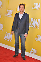 NASHVILLE, TN - NOVEMBER 1: Charles 'Chip' Esten on the Macy's Red Carpet at the 46th Annual CMA Awards at the Bridgestone Arena in Nashville, TN on Nov. 1, 2012. © mpi99/MediaPunch Inc. /NortePhoto .<br />
