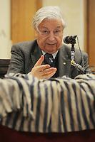 Conferenza con Nedo Fiano nella foto Nedo Fiano spettacoli Brescia 11/03/2009 foto Matteo Biatta