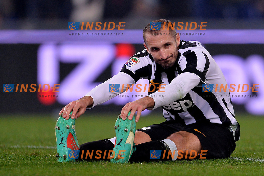 Giorgio Chiellini Juventus.<br /> Roma 22-11-2014 Stadio Olimpico. Football Calcio 2014/2015 Serie A. Lazio - Juventus. Foto Antonietta Baldassarre / Insidefoto