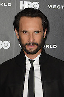 HOLLYWOOD, CA - SEPTEMBER 28: Rodrigo Santoro at the premiere of HBO's 'Westworld' at TCL Chinese Theatre on September 28, 2016 in Hollywood, California. Credit: David Edwards/MediaPunch