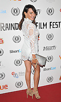 "Elizabeth ""Lizzie"" Cundy attends the ""My Hero"" Raindance Film Festival UK film premiere, Vue Piccadilly cinema, Lower Regent Street, London, England, UK, on Friday 25 September 2015. <br /> CAP/CAN<br /> ©Can Nguyen/Capital Pictures"