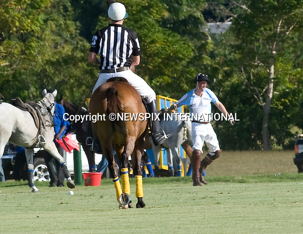 "PRINCE HARRY_Takes A Tumble.Prince Harry competing in the inaugural Sentebale Polo Cup at Apes Hill Polo Club, Barbados hit the deck during the game..Harry vented his anger soon after with his polo mallet..However the Sentebale team beat the South African team to win the cup. Prince Harry is on a 3-day  Royal Tour of Barbados_31/01/2010.Mandatory Credit Photo: ©DIAS-NEWSPIX INTERNATIONAL..**ALL FEES PAYABLE TO: ""NEWSPIX INTERNATIONAL""**..IMMEDIATE CONFIRMATION OF USAGE REQUIRED:.Newspix International, 31 Chinnery Hill, Bishop's Stortford, ENGLAND CM23 3PS.Tel:+441279 324672  ; Fax: +441279656877.Mobile:  07775681153.e-mail: info@newspixinternational.co.uk"