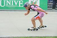 INLINE-SKATEN: HEERDE: Skeeler- en Skatecentrum Hoornscheveen, Europa Cup/Univé Skate Off, 05-05-2012, Mandy Groot (#10 | Junior A), ©foto Martin de Jong