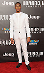 Jessie Usher at the Independence Day Resurgence Premiere held at the TCL Chinese Theatre, Los Angeles CA. June 20, 2016.