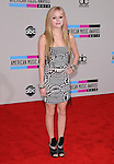 Avril Lavigne at The 2010 American Music  Awards held at Nokia Theatre L.A. Live in Los Angeles, California on November 21,2010                                                                   Copyright 2010  DVS / Hollywood Press Agency
