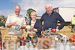 ANTIQUES: Denis Byrne of Abbeydorney shows some of antiques at the Kilflynn Vintage Rally to Margaret and John McSweeney (Dingle) on Sunday........