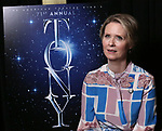 Cynthia Nixon attends the 2017 Tony Awards Meet The Nominees Press Junket at the Sofitel Hotel on May 3, 2017 in New York City.