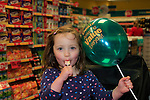 24/9/15 Bray Co Wicklow.<br /> Martha Evans at the open of the new Dealz store in Bray Co Wicklow.<br /> Picture Fran Caffrey /Newsfile/Professional Images