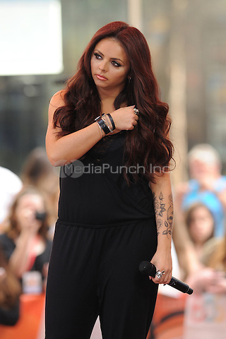 New York,NY-June 17: Jesy Nelson at the  Today Show in New York City on June 17, 2014. ©Credit: John Palmer/MediaPunch.