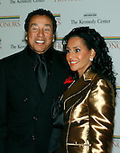 Washington, D.C. - December 2, 2006 -- Smokey and Francise Robinson arrive for the State Department Dinner for the 29th Kennedy Center Honors dinner at the Department of State in Washington, D.C. on Saturday evening, December 2, 2006.  Andrew Lloyd Webber, Zubin Mehta, Dolly Parton, Smokey Robinson and Stephen Spielberg are being honored in 2006 for their contribution to American culture..Credit: Ron Sachs / CNP
