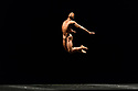 "London, UK. 26.09.2017. Acosta Danza, the new dance company founded by Cuban dancer, Carlos Acosta, receives its UK premiere at Sadler's Wells. The piece shown is: ""El cruce sobre el Niagara"", choreographed by Marianela Boan. Picture shows: Carlos Luis Blanco. Photograph © Jane Hobson."