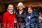 "Noreen Barry, Peggy O'Neill and Gretta Kavanagh, pictured at Aonghus McAnally ""Celebrating Christie Hennessy"" at Siamsa Tire, Tralee, on Thursday, November 23rd last."
