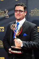 BURBANK - APR 26: Gregori J Martin at the 42nd Daytime Emmy Awards Gala at Warner Bros. Studio on April 26, 2015 in Burbank, California