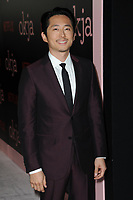 www.acepixs.com<br /> June 8, 2017  New York City<br /> <br /> Steven Yeun at the 'Okja' screening on June 8, 2017 in New York City.<br /> <br /> Credit: Kristin Callahan/ACE Pictures<br /> <br /> <br /> Tel: 646 769 0430<br /> Email: info@acepixs.com