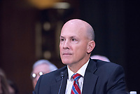 WASHINGTON, DC - NOVEMBER 8:  Richard Smith, Former Chief Executive Officer, Equifax, Inc. testifies at a Congressional hearing on Consumer Data breach.The hearing features testimony from a current and a former official who worked on the response to Yahoo!ís 2013 data breach, which the company announced only last month affected all 3 billion user accounts, as well as the current and former CEO of Equifax, which suffered a 2017 breach reported to affect approximately 145 million individuals, including sensitive personal and financial information. Credit: Patsy Lynch/MediaPunch