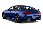 Car pictures of rear three quarter view of a 2019 Mercedes Benz AMG-GT 63-S 5 Door Hatchback angular rear