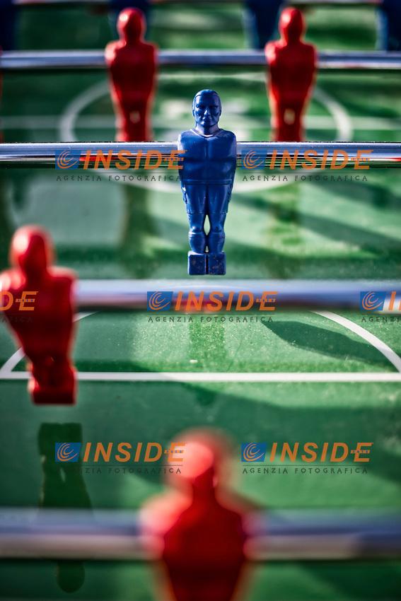 Biliardino <br /> Table football <br /> Roma 03-05-2016 Citta' dell'Altra Economia <br /> Foto Andrea Staccioli Insidefoto