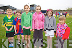 Taking part in the community Games at The Con Keating Park in Cahersiveen on Thursday last were l-r; Kane O'Shea, Aodhan O'Neill, Aoibhinn Fitzgerald, Orla Sugrue, Kate Sugrue & Muireann Teehan.
