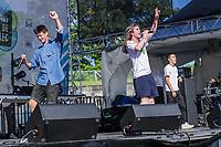 LaF performs at the Festival d'ete de Quebec (Quebec Summer Festival) on July 12, 2018.