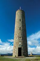 Sir William Burnett monument on Scolty Hill, Banchory, Aberdeenshire