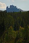 The Castle, Volcanic Ridge near Crested Butte, Colorado